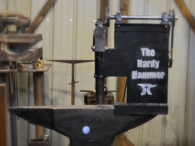 Hardy Hammer Plans // Plans for a Blacksmith Power Hammer